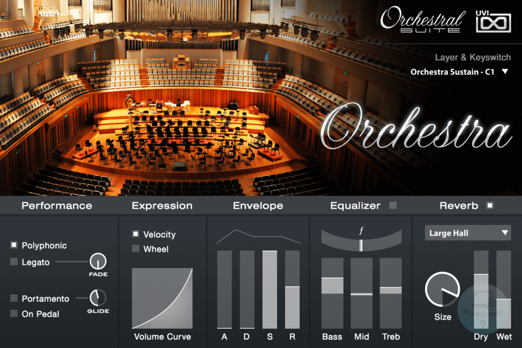 UVI Orchestral Suite - best orchestra vst plugin for windows and mac computers