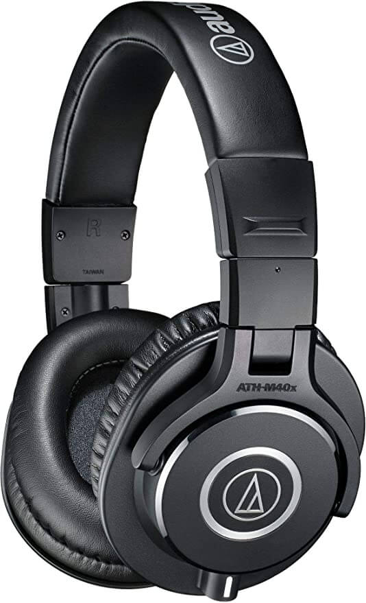 Audio-Technica ATH-M40x - djing headphones wireless cheap for club radio festival djs