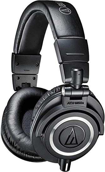 Audio-Technica ATH-M50x - professional serato dj headphones wireless bluetooth wifi