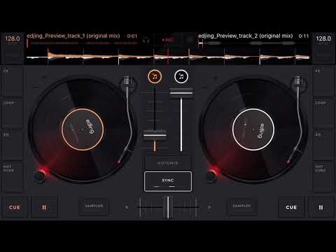 Edjing Mix - free music dj app google play for android mobile tablets
