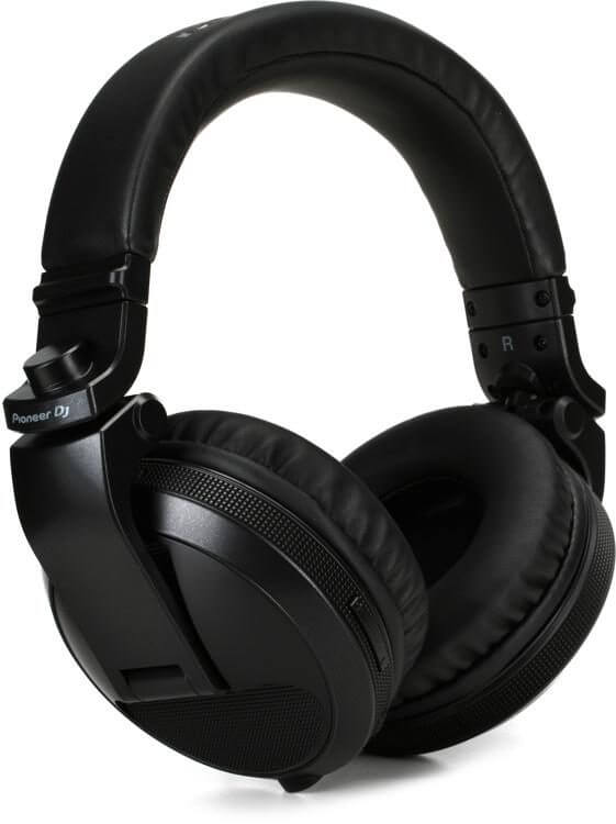 Pioneer HDJ-X5BT - best wireless bluetooth overhead pianoeer headphones for djing
