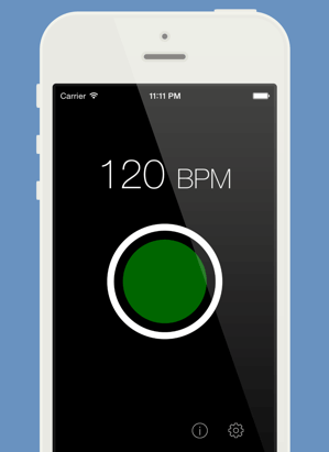 Tap That Tempo - song tempo bpm free app for djs music producers songwriters