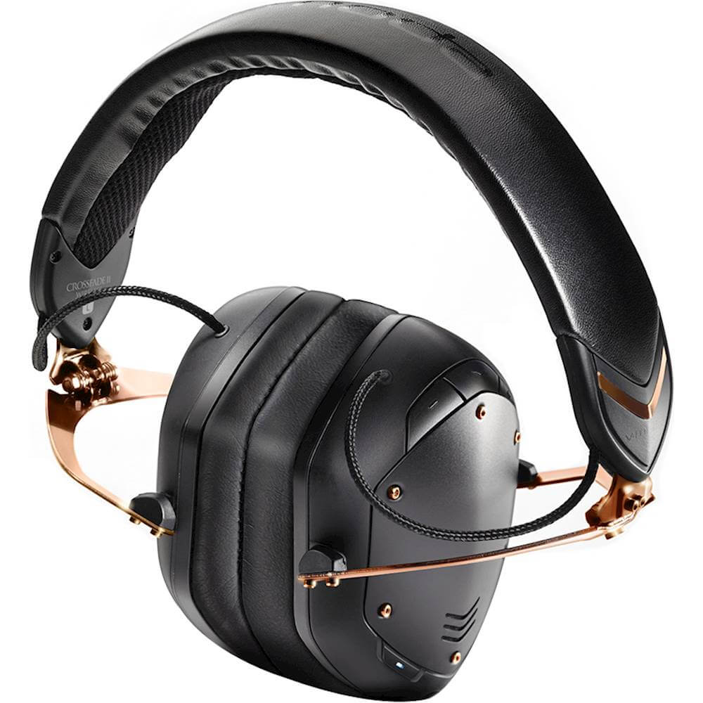V-Moda Crossfade 2 - best over ear dj headphones with bluetooth wireless technology