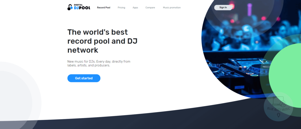 digital dj pool review - free music for djs only - complete dj music collection source