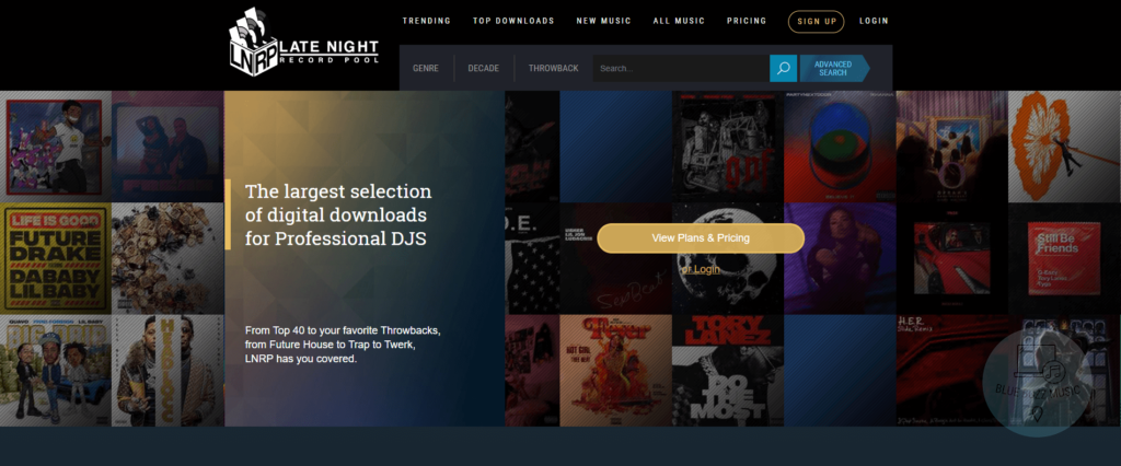late night record pool review - professional record pool for djing and music production