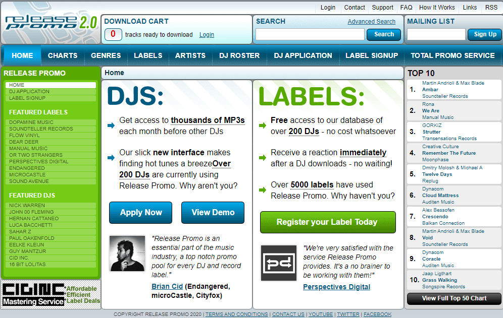 release promo review - free dj pool house edm dubstep hip hop record