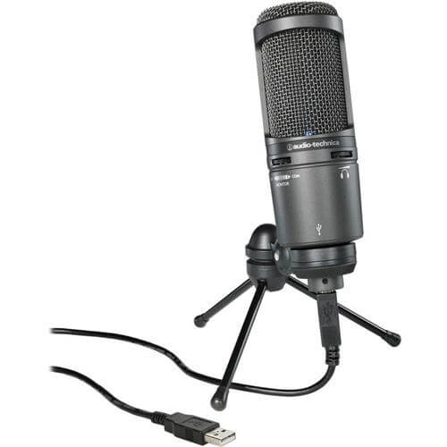 Audio-Technica AT2020USB - best computer usb microhpone for singing for pc and mac