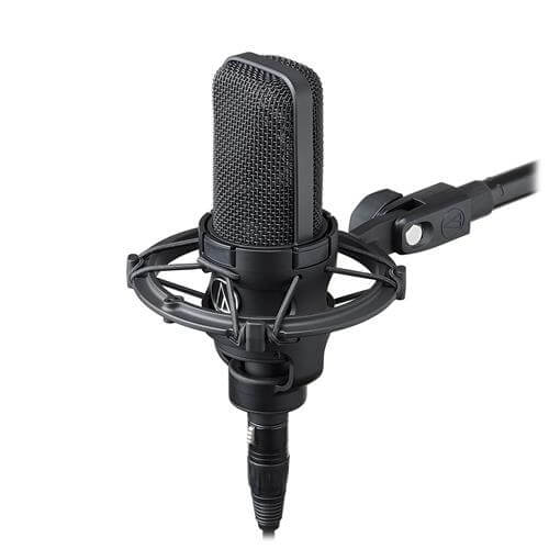 Audio-Technica AT4040 - best usb microphone for podcasting and voiceover