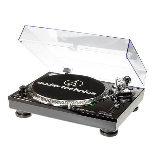 Audio-Technica LP120 USB C - best dj turntable for playing vinyl under $300