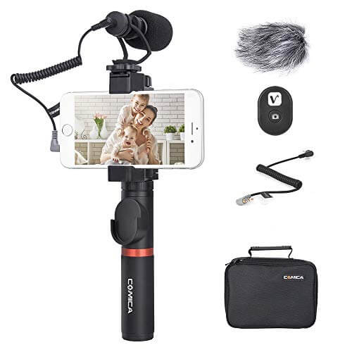 Comica Smartphone Video Kit - best video kit for iphone and android phones