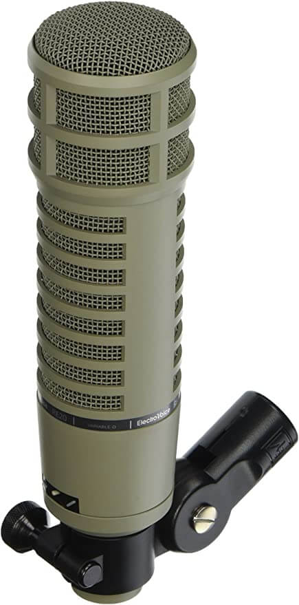 EV RE20 Studio Mic - best shotgun mic for professional male and female voice over
