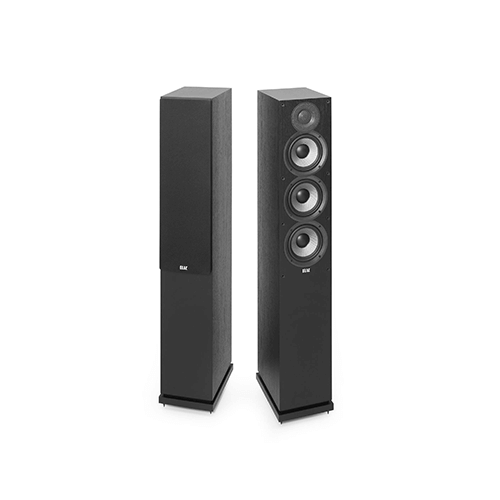 Elac Debut 2.0 F5.2 - best bookshelf speakers under $500 for home theatre