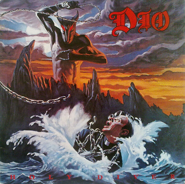 Holy Diver by Dio - easy guitar tabs for popular rock songs for beginners