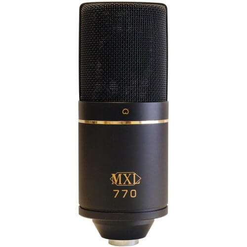 MXL 770 - best budget gaming microphone under $100
