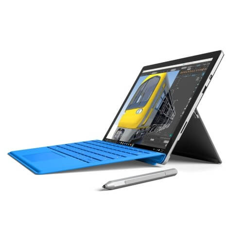 Microsoft Surface Pro 4 - best laptop for drawing and animation