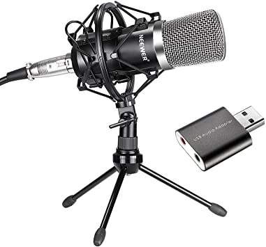 Neewer NW-700 - best cheap gaming microphone without headphones under $100
