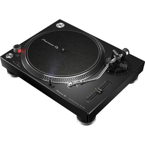 Pioneer PLX-500 - best cheap dj turntable under $400 for scratching vinyl records
