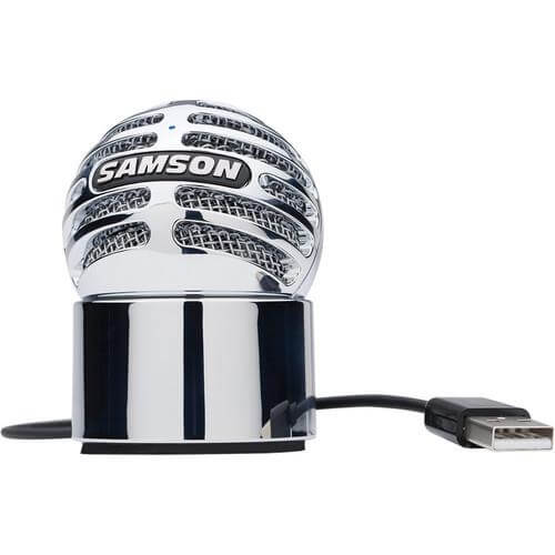 Samson Meteorite - small affordable microphone for voice over, voice recording, elearning