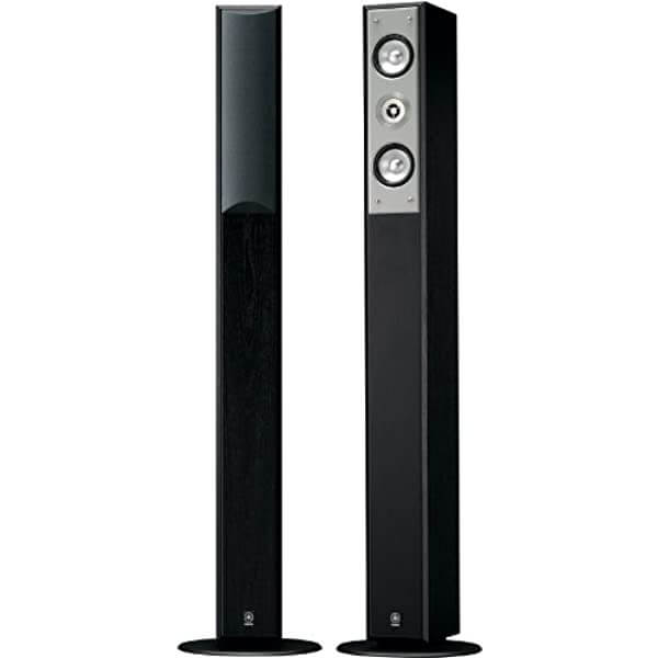 Yamaha NS-F210BL - best tower speakers under $500 for music listening and watching movies