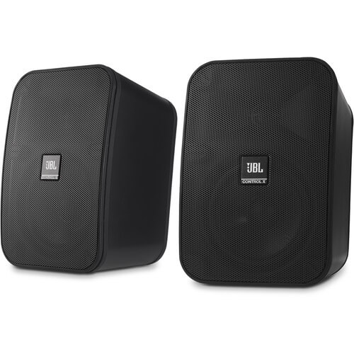 JBL Control X - best apartment speakers for listening to music