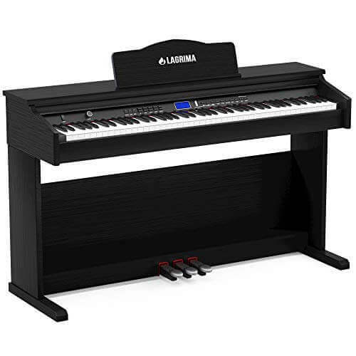 Lagrima Digital Piano Review - electric keyboard piano for beginners, kids, and adults