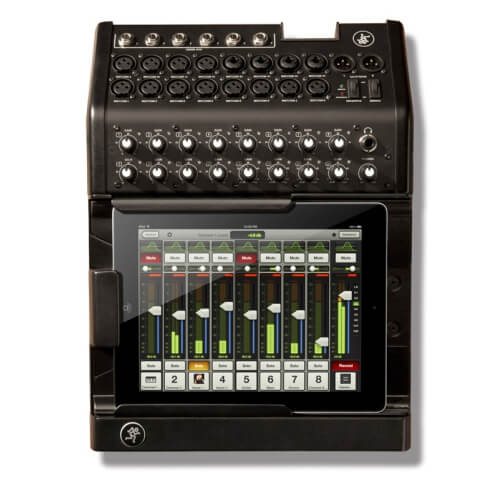 Mackie DL Series - best live wireless sound mixer tablet controlled