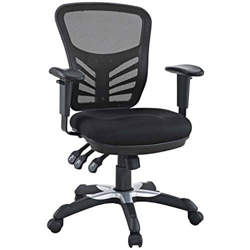 Modway Articulate chair - best ergonomic office chairs for studio recording