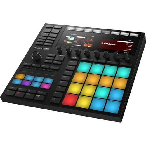 Native Instruments Maschine 3 - best pro midi keyboard for cubase with pads and faders