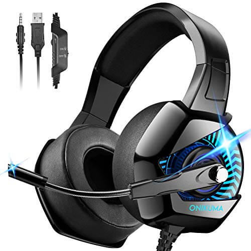 Onikuma Gaming Headset - best cheap budget affordable headset for gaming