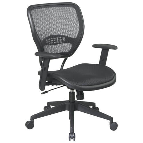 Space Air Grid - best chairs for home recording studios