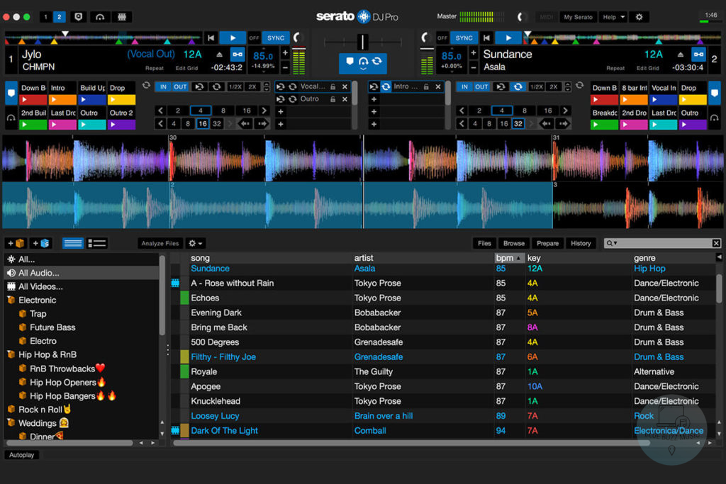 Serato DJ Pro - what software do professional djs use to mix music on pc and mac