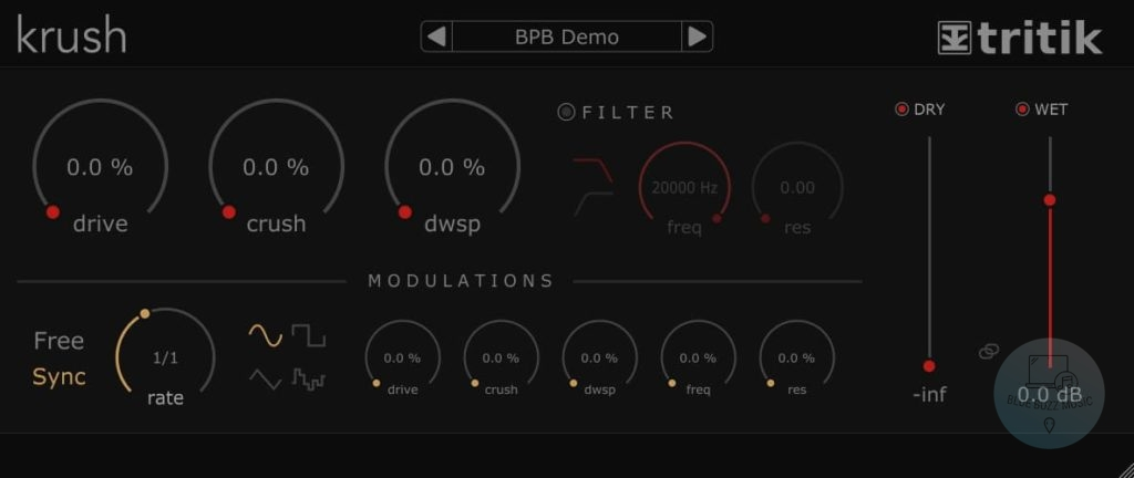 Krush by Tritik - easy simple edm vst plugin for beginners free to download