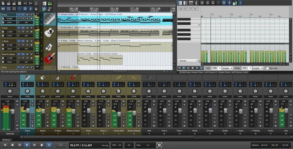 Reaper - the least popular daw among industry professionals for some odd reason