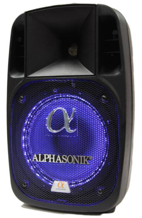 Alphasonik 12 - best wireless portable party speakers with bass