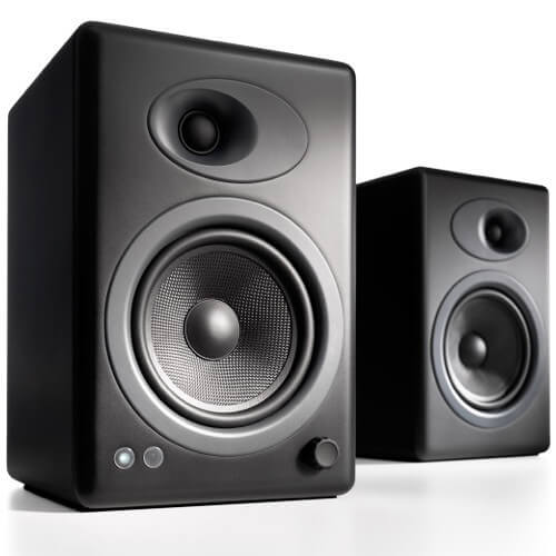 Audioengine A5 - best cheap budget powered speakers for turntables and record players