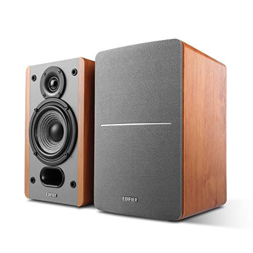 Edifier R1280T - best budget bookshelf powered speakers under 200