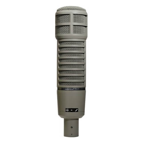 Electro-Voice RE20 - best professional condenser microphone for beatboxing