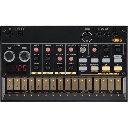 Korg Volca Beats - best drum machine for guitarists