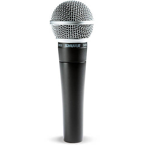 Shure SM58 - best cheap affordable dynamic microhpone for beatboxing