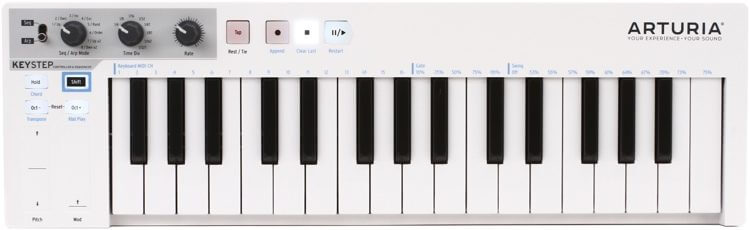 Arturia KeyStep 32-Key midi keyboard for beginners is a good choice
