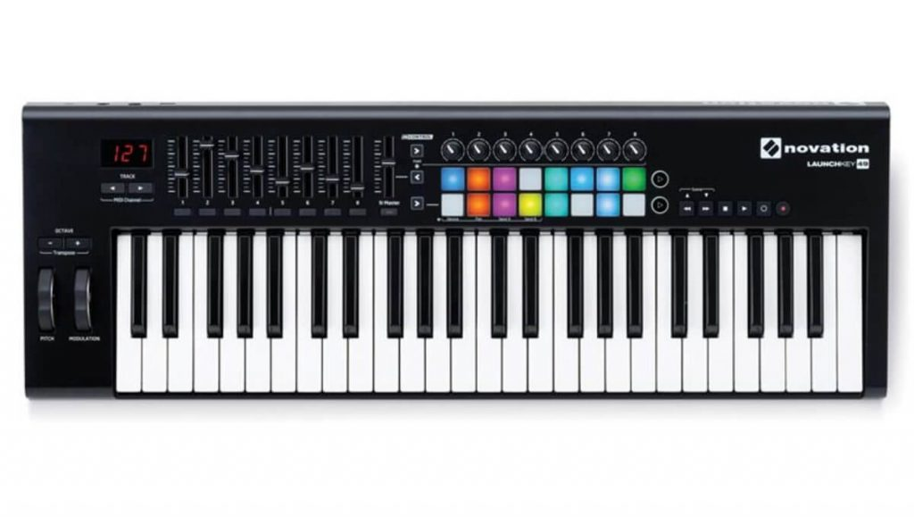 Novation Launchkey 49 MK2 midi keyboard for beginners is a good choice