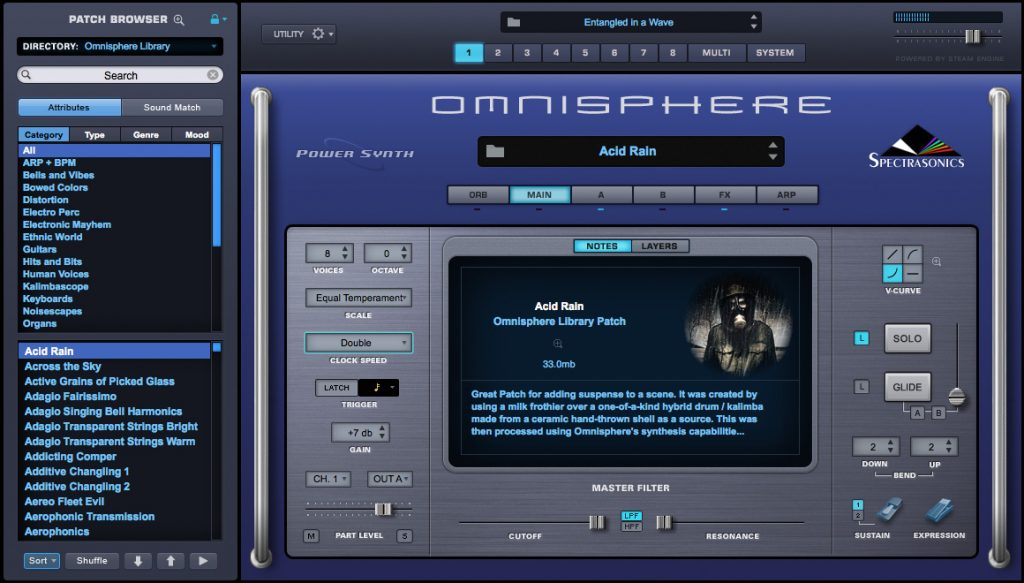 Omnisphere 2 is the best paid synth vst plugin used in hip hop to generate various sounds with tons of presets