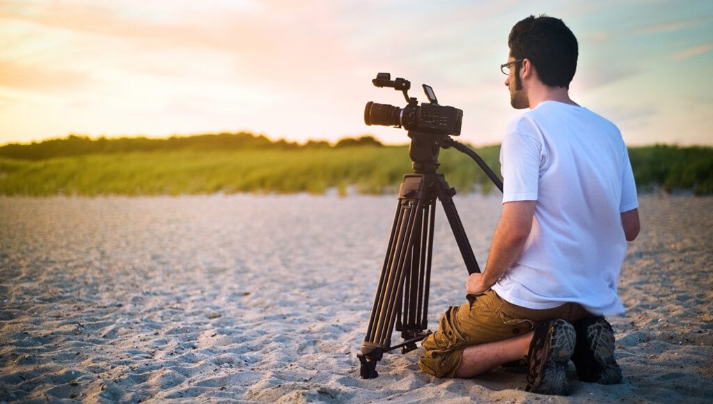 stock footage to shoot a music video