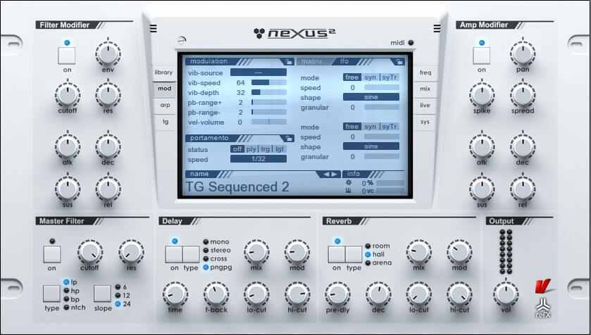 Nexus one of the best paid synth plugins