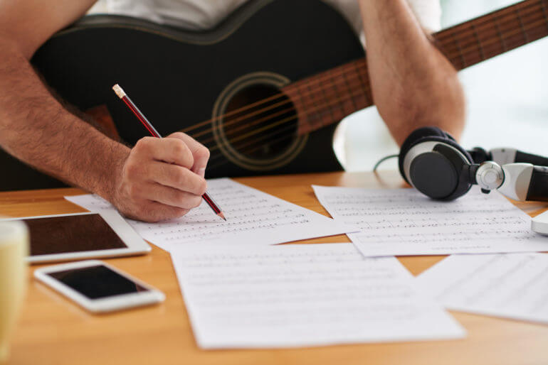 writing lyrics for the song is important when you learn how to write rock song
