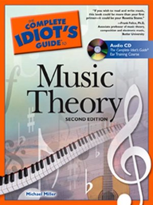 The Complete Idiot's Guide To Music Theory is one of the best piano books for beginners