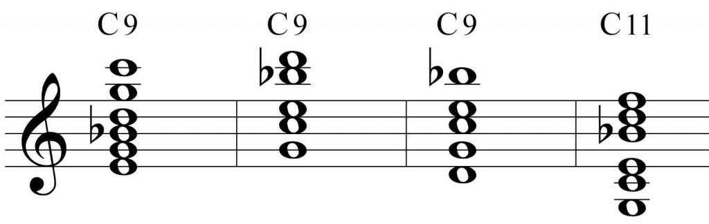 don't overlook the chord inversion