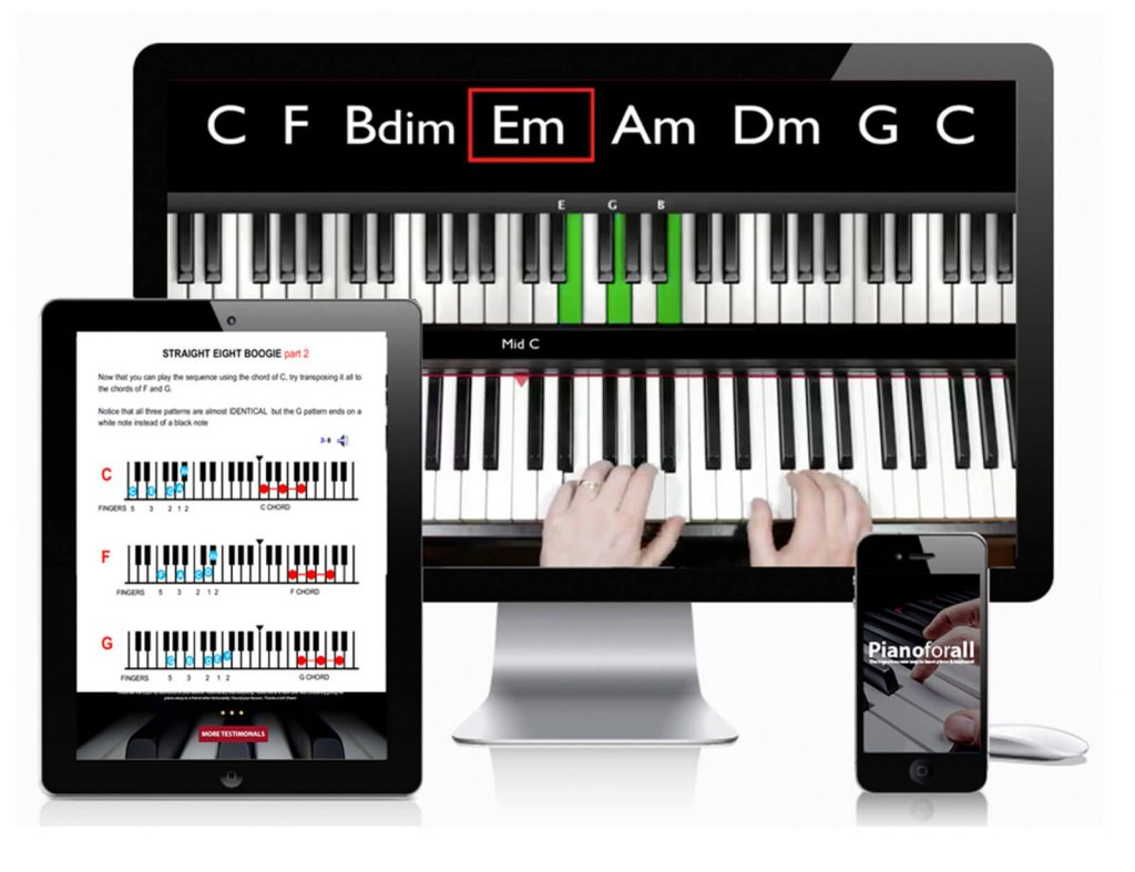 PianoForAll is One of The Best Piano Courses for Beginners