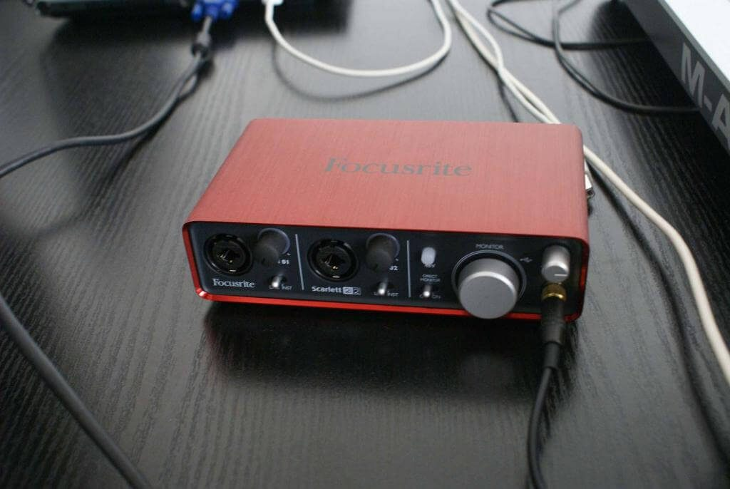 Focusrite 2i2 USB audio interface performance