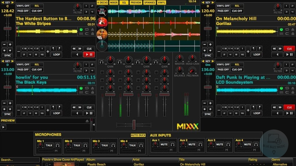 best free music mixing software - Mixxx - best dj software for pc free